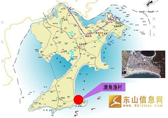 福建东山岛地图