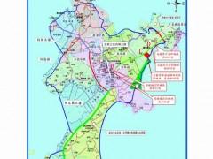 东山县拟出让地块位置示意图